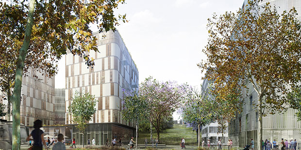 Futur ZAC - Vitry-sur-Seine ; Copyright : Archikubik
