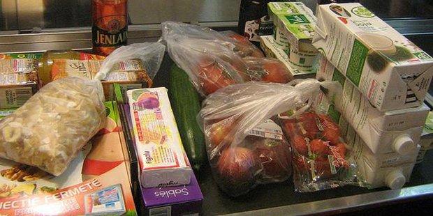 Aliments supermarchés ; Crédits : PierrO / Flickr