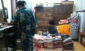 Boutique kimono - Tokyo ; Crédits : [pop-up] urbain