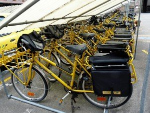 Vélos facteurs - Strasbourg. Copyright : ecelan / Wikimedia