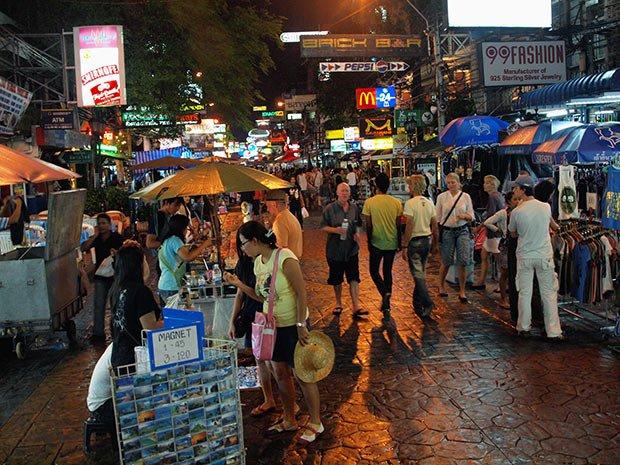 Khao San Road - Bangkok. Copyright : Kevin Poh / Flickr