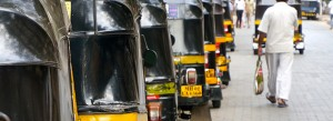 Rickshaws - Mumbai. Crédits : Clément Pairot