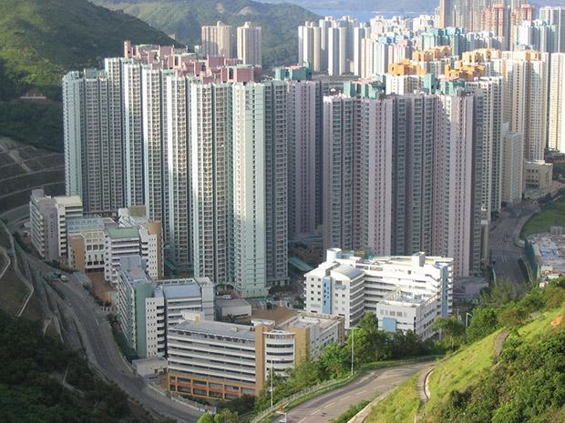 Buildings - Hong Kong. Copyright : Baycrest / Wikimedia