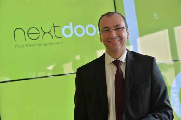 Philippe Morel, président de Nextdoor. Copyright : Nextdoor