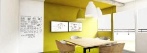 À l'étage, les bureaux privatifs de Nextdoor sont accessibles 24 heures sur 24. Copyright : Nextdoor