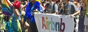 Manifestation Airbnb. Crédit : Quinn Dombrowski