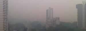 Pollution à Singapour. Copyright : Wolcott / Wikimedia
