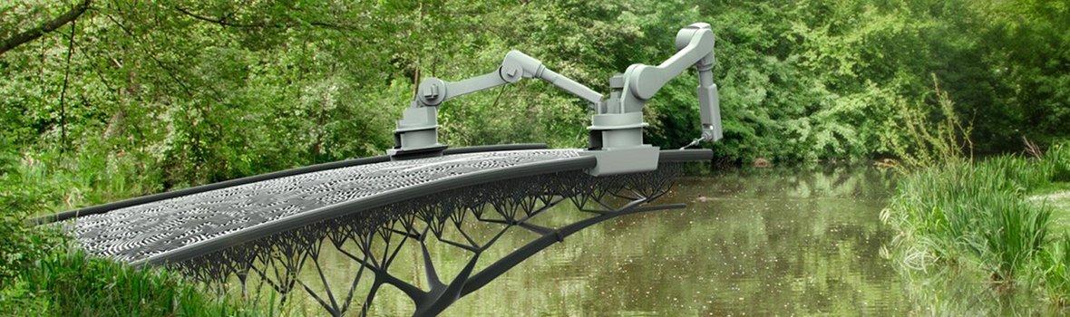 Un pont bientôt imprimé en 3D à Amsterdam