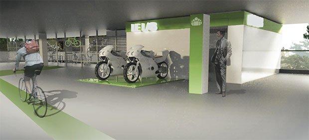 Quelle place pour le vélo au sein de l'entreprise ? Crédits : Gabriel Gavira, Mélina Régent, L'École de design Nantes Atlantique