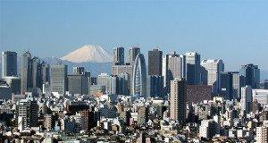 Les gratte-ciel du quartier de Shinjuku, à Tokyo. Crédits : Morio / Wikimedia