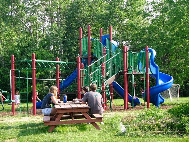 Petit parc au calme - Crédits Don Shall sur Flickr