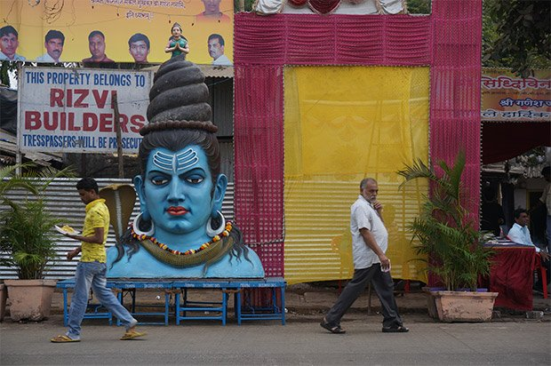 Rue de Mumbai. Crédits : Clément Pairot