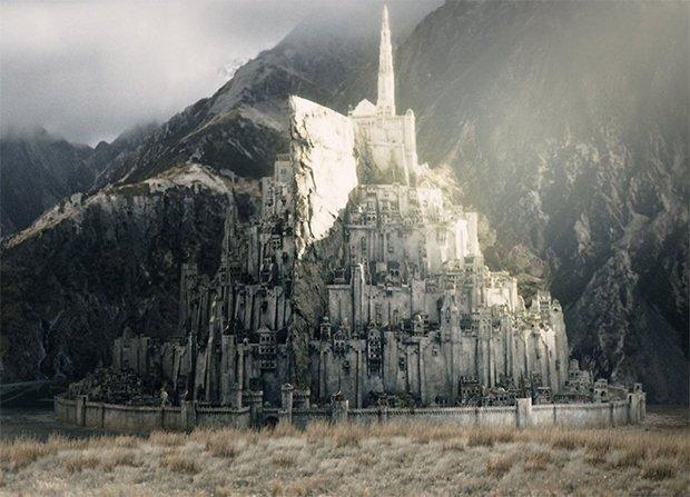 Minas Tirith, Capitale du Gondor. Crédits : DR