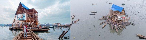 L'école mobile de Makoko ©NLE