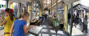 BlaBla-Tram réinvente les processus de démocraties participatives. Crédits : Katel Le Bihan, Estelle Thébault – Ecole de Design Nantes Atlantique