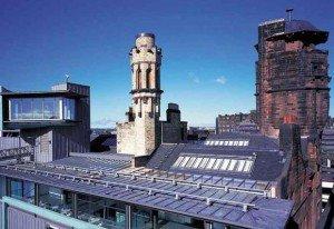 Le phare de Glasgow est la « Cité de l'architecture et du design en Grande-Bretagne » depuis 1999. © DR