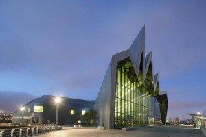 Le Riverside Museum a obtenu en 2013 le Prix du « musée européen de l'année ». © DR