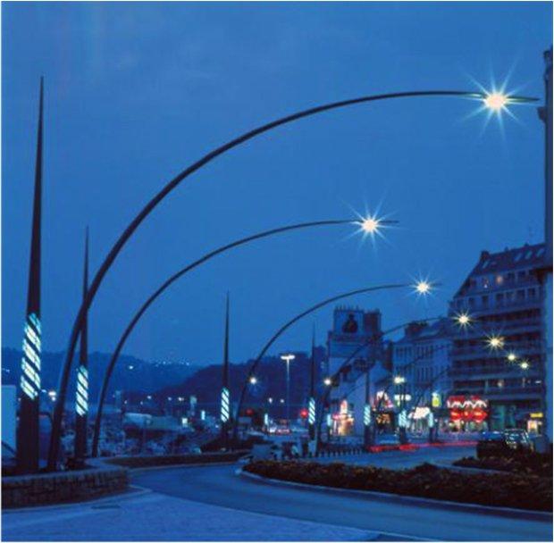 lampadaire de ville design