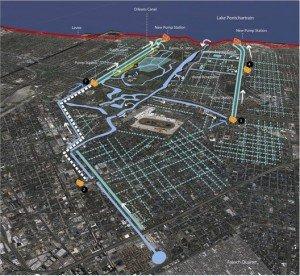 Nouvelle Orléans Plan de projet © Waggonner & Ball  Architects