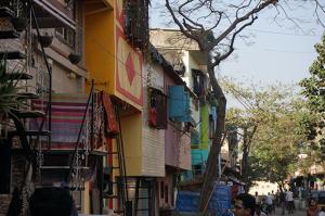 L'urbanisation de slum porte une logique incrémentale © Clément Pairot