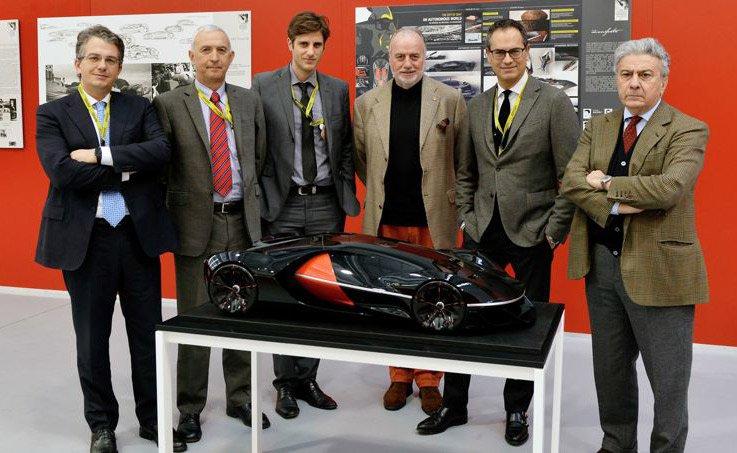 Le jury a décidé à l'unanimité d'attribuer le grand prix « Gran Premio Assoluto » au modèle Manifesto dessiné par les jeunes designers français. © Le Figaro