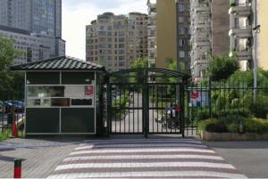 Photographie tirée de l'article de Monika Komorowaska GATED WARSAW publié dans Urbanophil