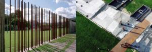 Sur les traces du mur disparu. Images tirées du site de l'agence Siani