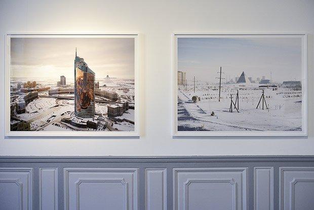 Astana est devenue la nouvelle capitale du Kazakhstan sur décret en 1997. Les températures y sont glaciales en hiver du fait de sa situation dans les steppes. © Henri Perrot