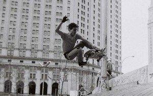 La ville de New York, un immense terrain de jeu pour les skateurs © Jessica Barde