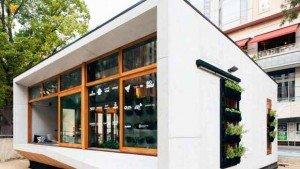 Cette habitation devrait émettre 1 000 fois moins de CO2 qu'une maison australienne moyenne © Archiblox