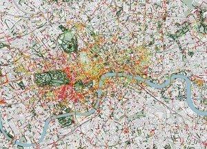 Les odeurs de Londres (via Smelly Maps)
