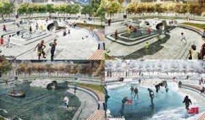 Water Squares Urbanisten eau