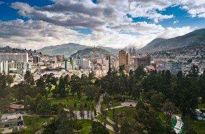 """La Conférence Habitat III se tiendra à Quito dans un complexe situé à côté du parc El Ejido. On trouvera aussi """"un village de l'innovation et des solutions urbaines."""" (Habitat III Village of Innovation and Urban Solutions) © DR"""