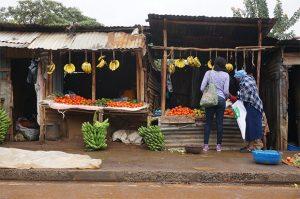Etal primeur Kibera mobilite demain la ville