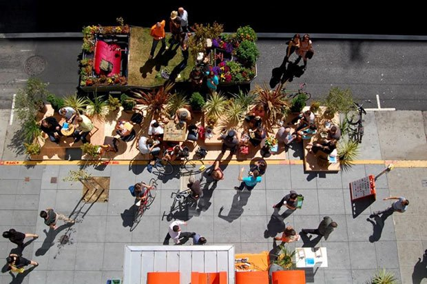 parklet san francisco curbed batiment demain la ville