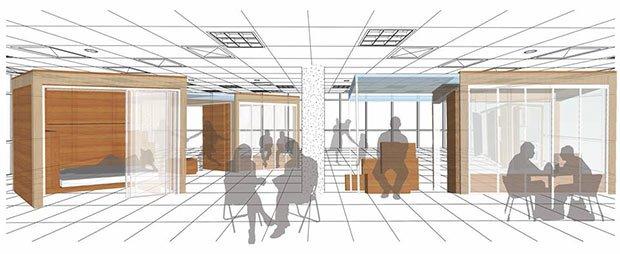 amenagement bureau logement unity cube