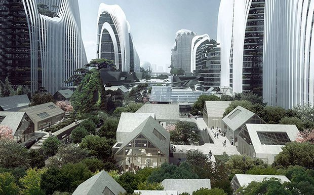 shanshui city mad architects batiment