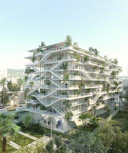 Un immeuble pensé comme nouveau standard de bureaux bioclimatiques, à livrer en 2018, agence laisné roussel, architecte. © laisné roussel
