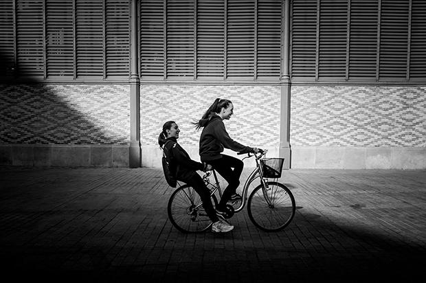 le partage de la mobilité en vélo