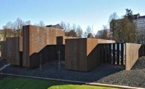 Le musée Soulages à Rodez dans l'Aveyron