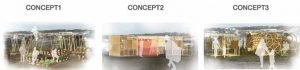Trois concepts permettent de recréer des espaces publics dans les camps de réfugiés.