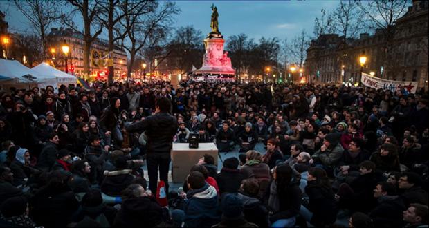 espace public république rassemblement