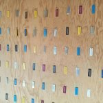 Mot sur un mur pour une demarche urbain