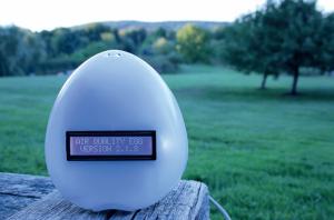 moniteur intelligent connecte air quality egg