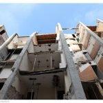 Immeuble en renovation dans le centre ancien de Toulon