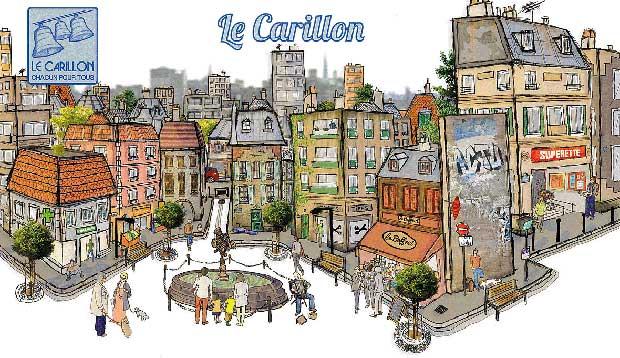 Le Carillon regroupe des habitants et 60 commerçants solidaires, prêts à offrir des services aux plus démunis.