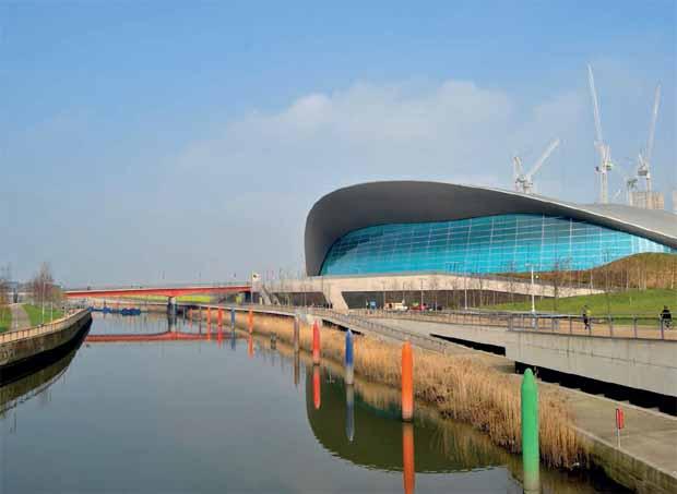 Le centre aquatique conçu par Zaha Hadid pour les Jeaux Olympiques de Londres a été réduit.
