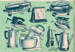 L'arrivée en masse d'équipements électroménagers est l'une des vagues les plus plébiscitées dans la transformation de la cuisine au siècle dernier.