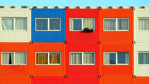 logement etudiants dans des conteneurs recyclés