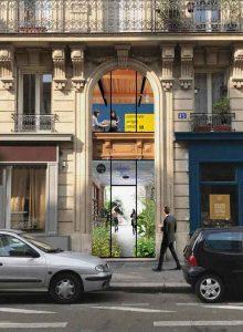 Le hall contributif entend faire vivre les espaces non exploités comme les entrées d'immeubles.